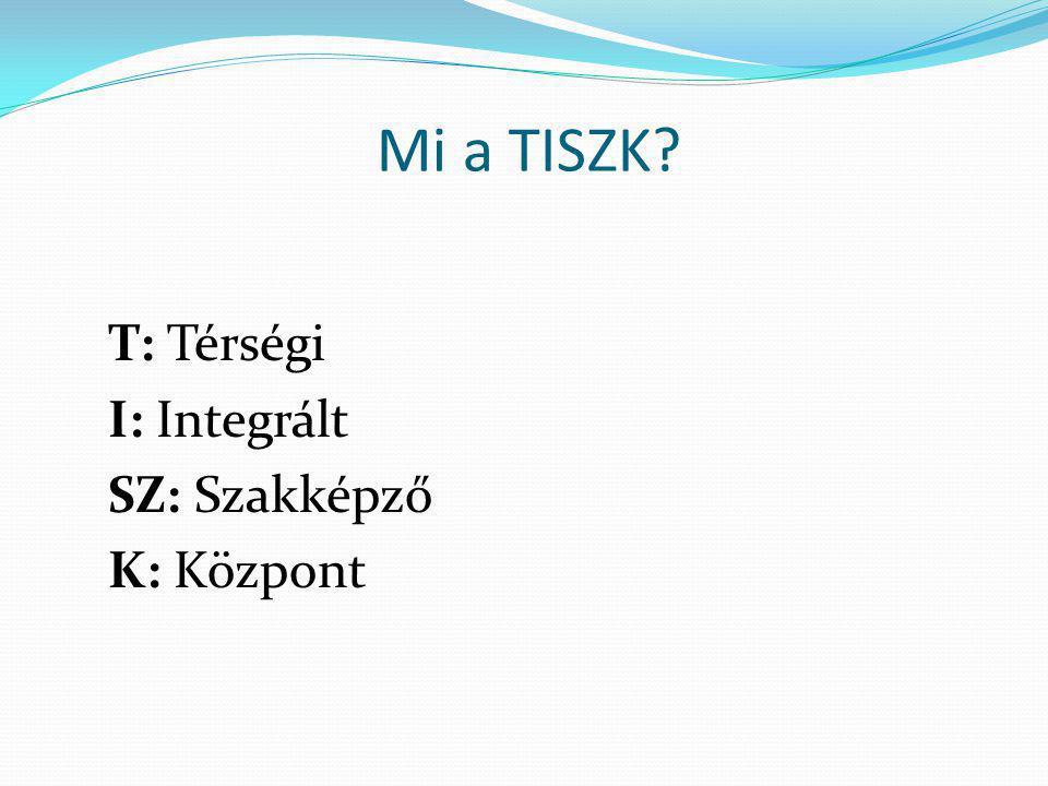 TISZK modell= szakképzés-szervezési társulás