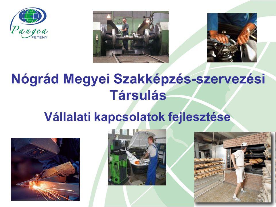 Vállalati kapcsolatok fejlesztése Nógrád Megyei Szakképzés-szervezési Társulás