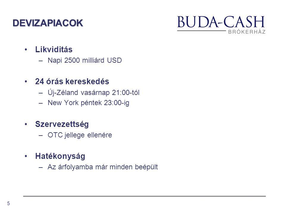 4 DEVIZA ÜZLETÁG 2000 deviza üzletág felállítása 2003 kiterjesztett idejű kereskedés 2004 online üzletág beindítása 2006 Portfolio Buda-Cash Trader 2007 TopTrader verseny