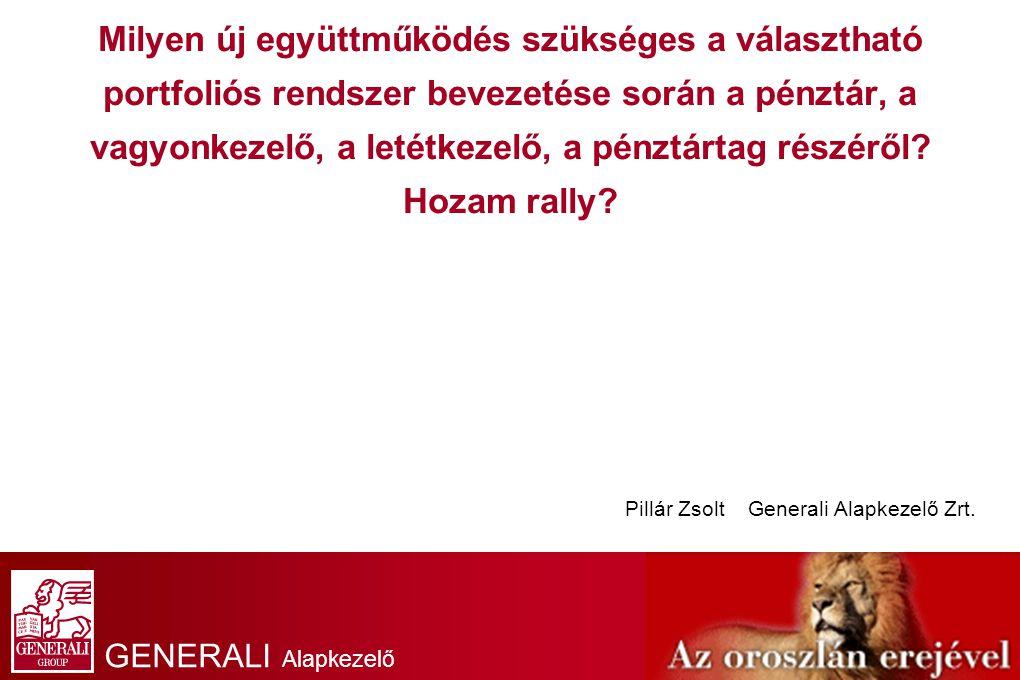 GENERALI Alapkezelő Zrt.
