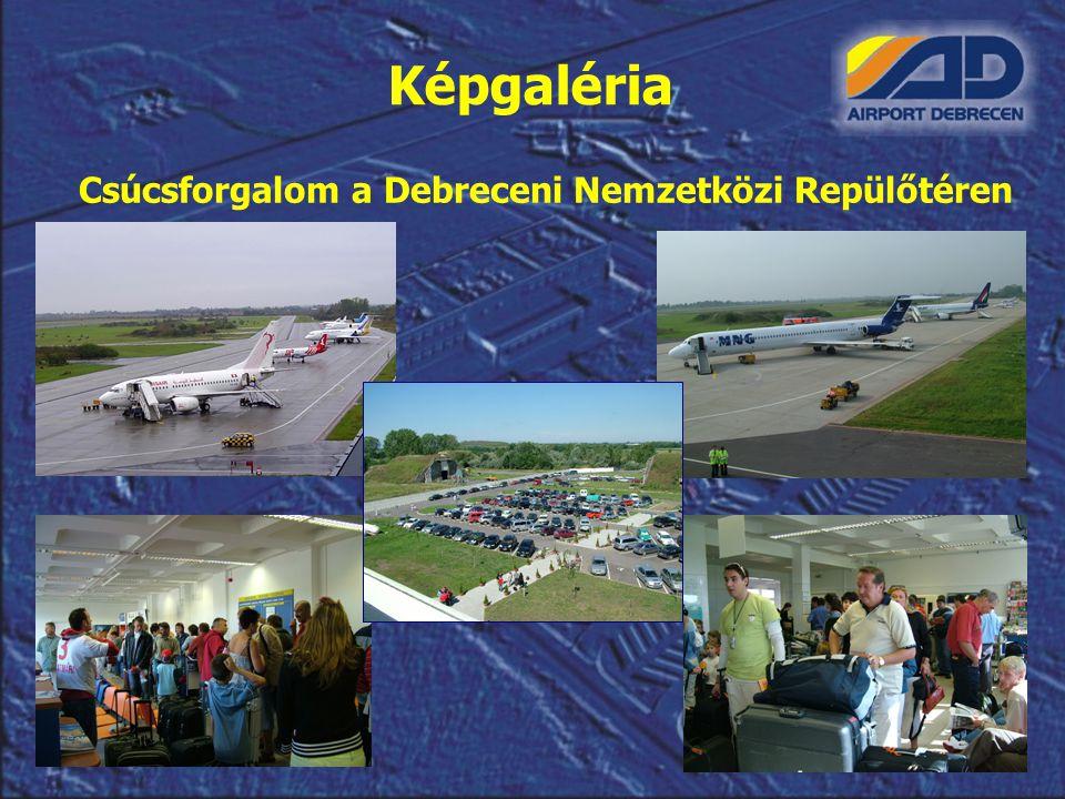 Képgaléria Csúcsforgalom a Debreceni Nemzetközi Repülőtéren