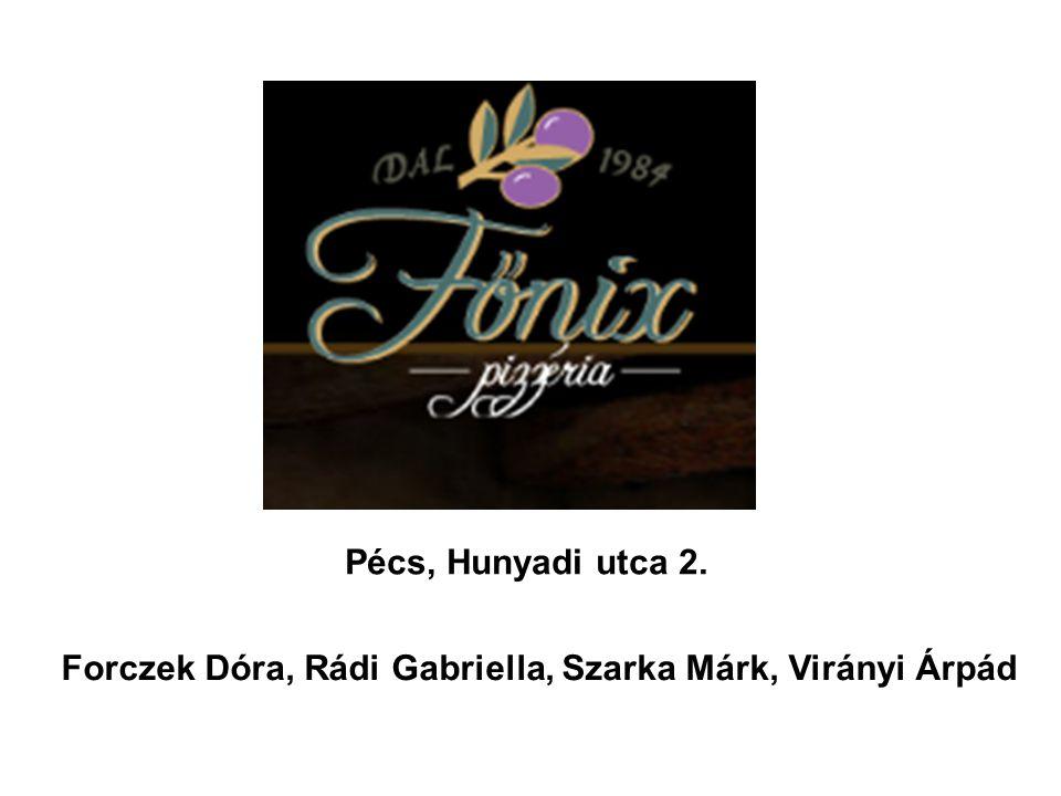 Pécs, Hunyadi utca 2. Forczek Dóra, Rádi Gabriella, Szarka Márk, Virányi Árpád