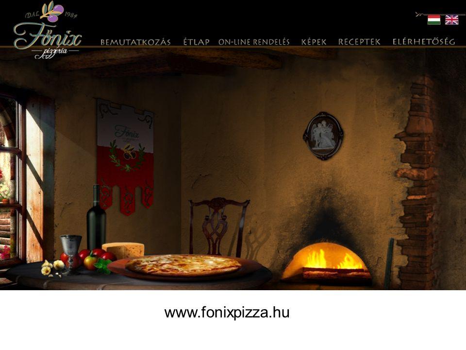 Étlap- Étel- Ár -Étlap magyar és angol nyelven -Áttekinthetően szerkesztett étlap -Ételek neve mellett sorszám is van -Az ételek ízletesek és finomak