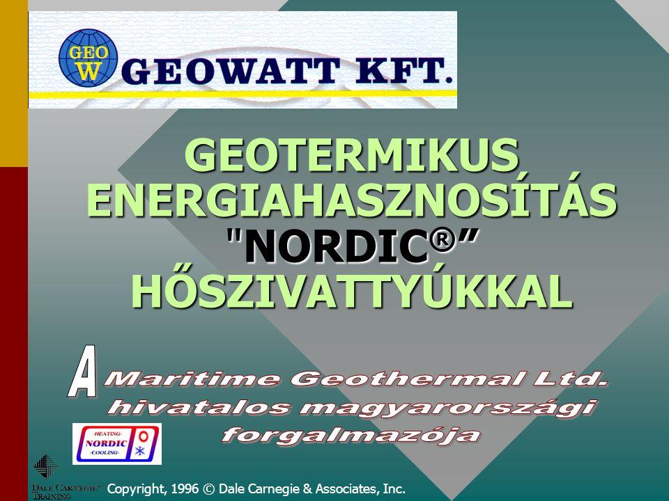 GEOTERMIKUS ENERGIAHASZNOSÍTÁS