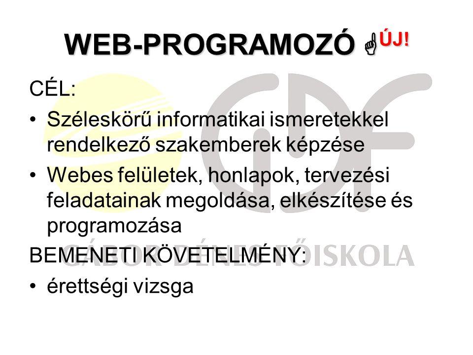 WEB-PROGRAMOZÓ  ÚJ.