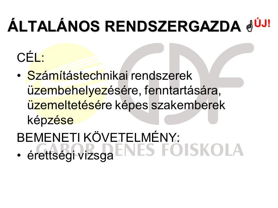 ÁLTALÁNOS RENDSZERGAZDA  ÚJ.