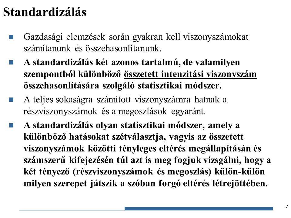 Gazdaságstatisztika, 2012 munkanélk.ráták különbsége I.II.