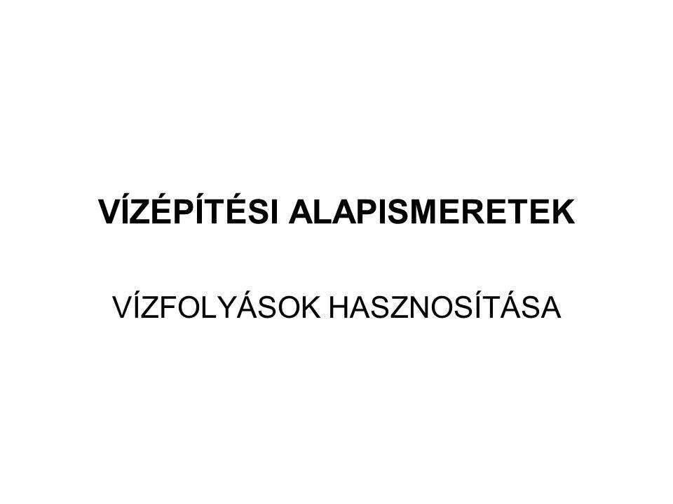 2014. 09. 13.22 Folyószabályozási művek tervezése Mederátvágások és mederelzárások