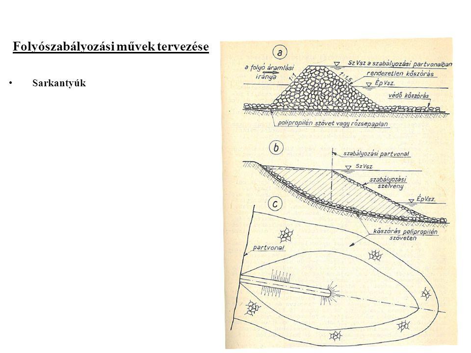 2014. 09. 13.18 Folyószabályozási művek tervezése Sarkantyúk