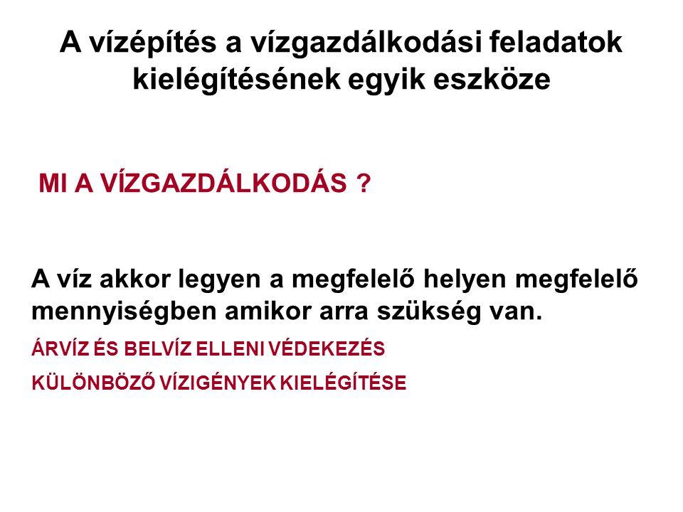 2014. 09. 13.13 Folyószabályozási művek tervezése Mederbiztosítás