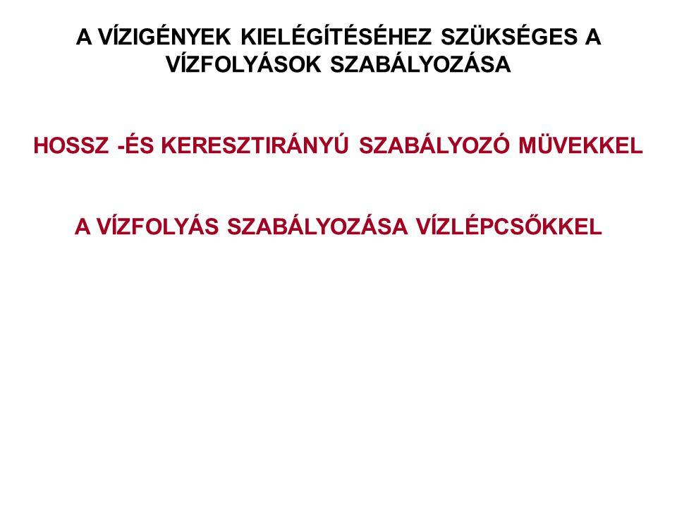2014. 09. 13.15 Folyószabályozási művek tervezése Vezetőművek és bekötő keresztgátak