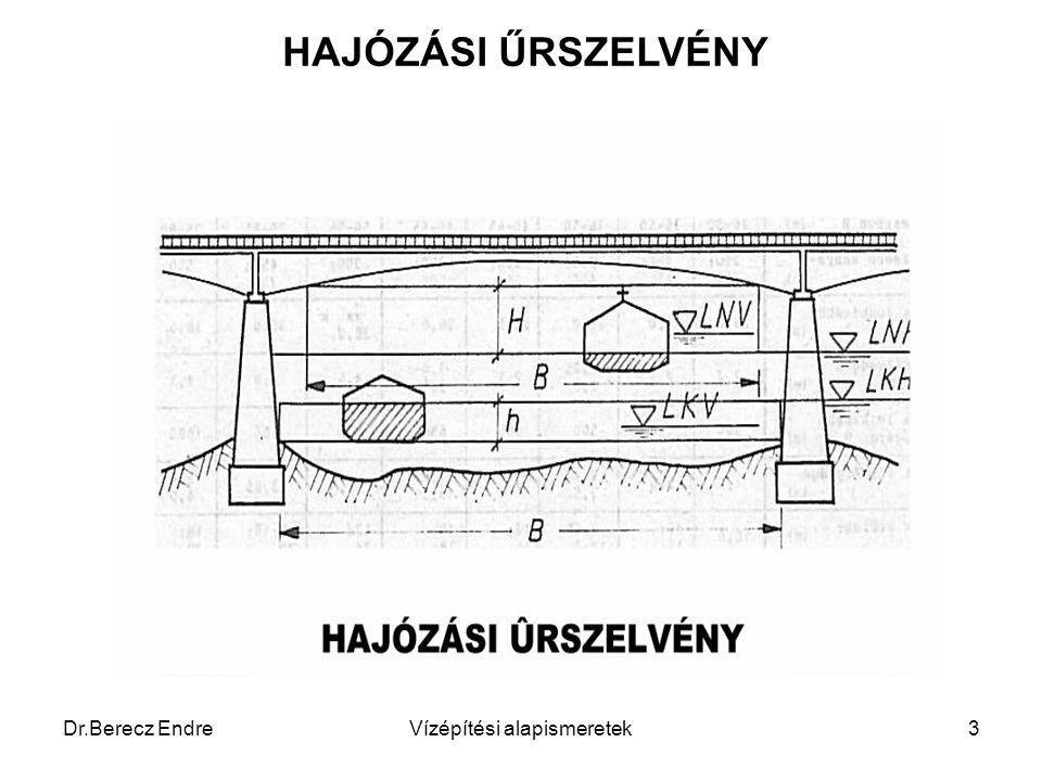 Dr.Berecz EndreVízépítési alapismeretek3 HAJÓZÁSI ŰRSZELVÉNY