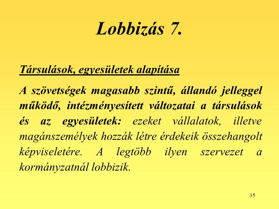 35 Lobbizás 7.