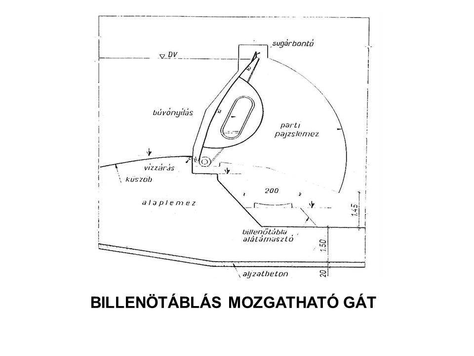 BILLENÖTÁBLÁS MOZGATHATÓ GÁT