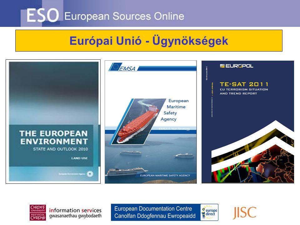 Európai Unió - Ügynökségek