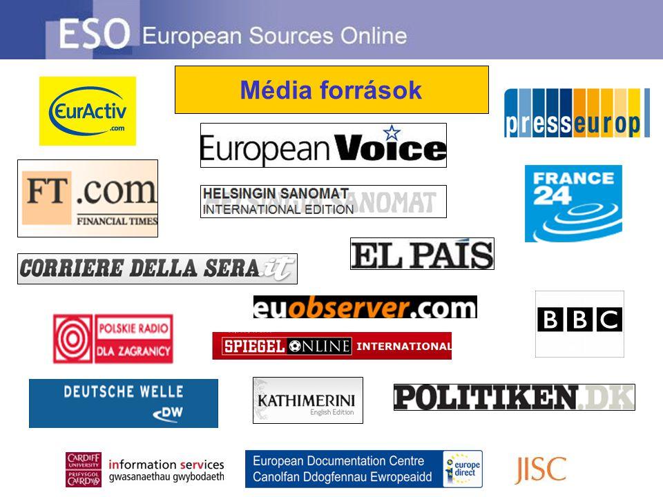 Média források