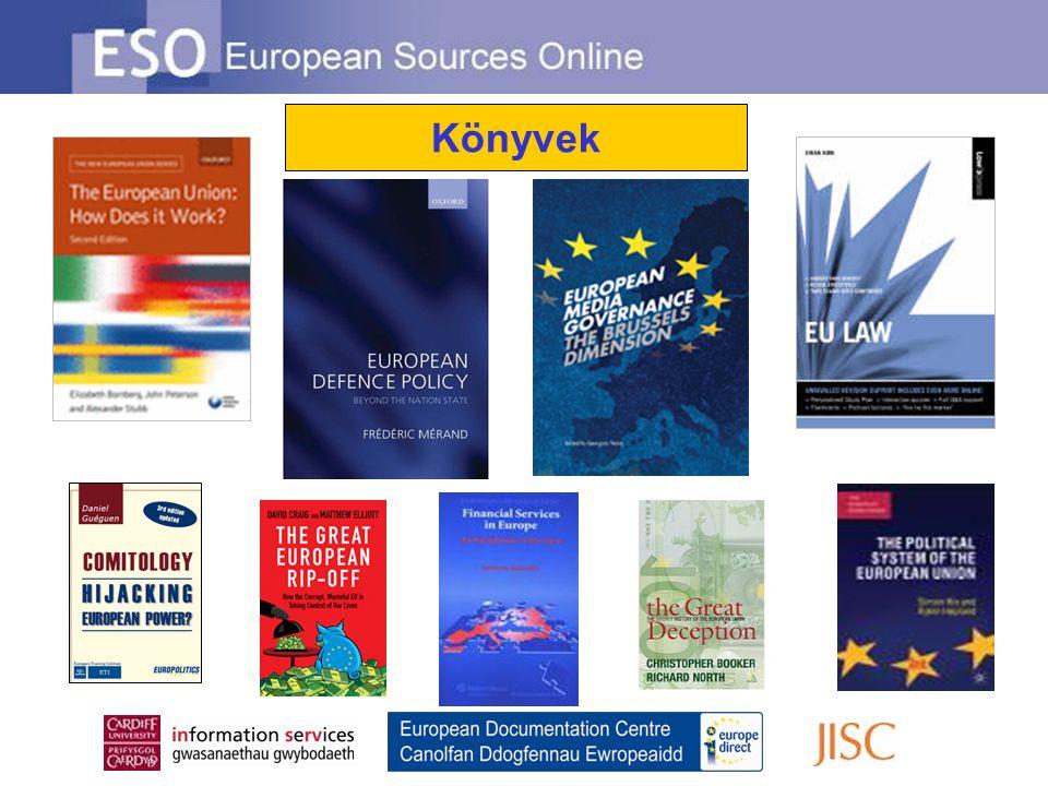 Az ESO Összetett Keresés több módszert is ajánl a keresés finomításához Pontosan meghatározhatja a keresett szavak kapcsolatát Adjon hozzá kulcsszavakat vagy kifejezéseket Kereshet címre, szerzőre, sorozati címre, ISBN számra, földrajzi érintettségre, témára, forrás eredetére és / vagy forrás típusára Korlátozhatja a keresést a publikáció időpontjának megadásával