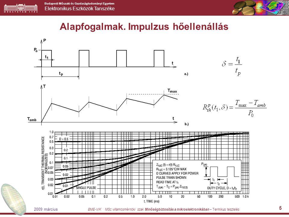 Budapesti Műszaki és Gazdaságtudományi Egyetem Elektronikus Eszközök Tanszéke BME-VIK MSc villamosmérnöki szak Minőségbiztosítás a mikroelektronikában – Termikus tesztelés 2009 március 6 A hőellenállás mérése Hogyan biztosítjuk/mérjük a disszipációt .
