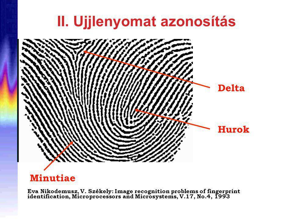 II. Ujjlenyomat azonosítás Eva Nikodemusz, V.