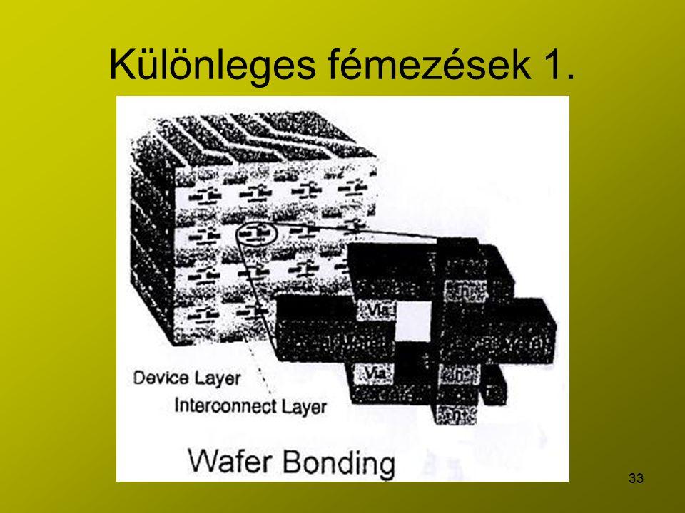 33 Különleges fémezések 1.