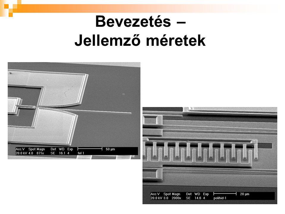 Tervezőrendszerek – Áttekintés MEMS tervezőrendszerek osztályozási szempontjai  önálló, vagy integrálható  végzett szimulációk típusai  támogatott technológiák száma  elterjedtség  ár/érték arány