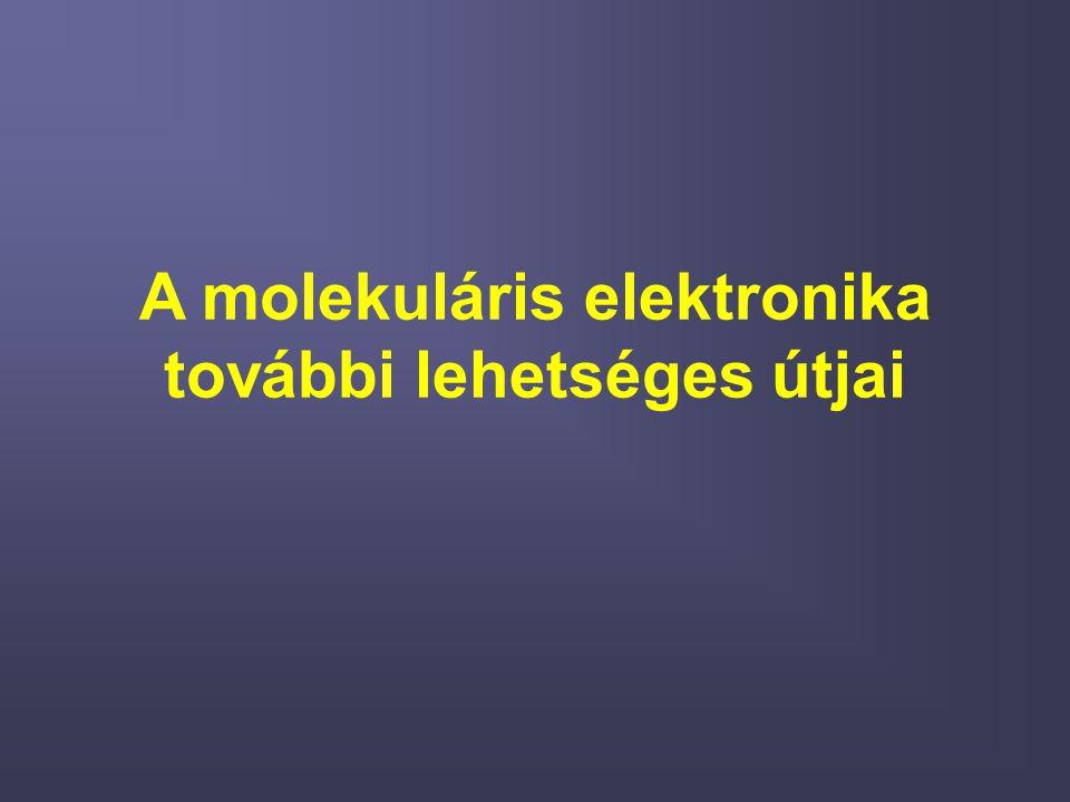 A molekuláris elektronika további lehetséges útjai