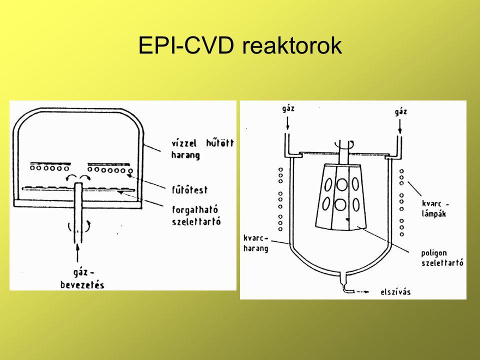 EPI-CVD reaktorok