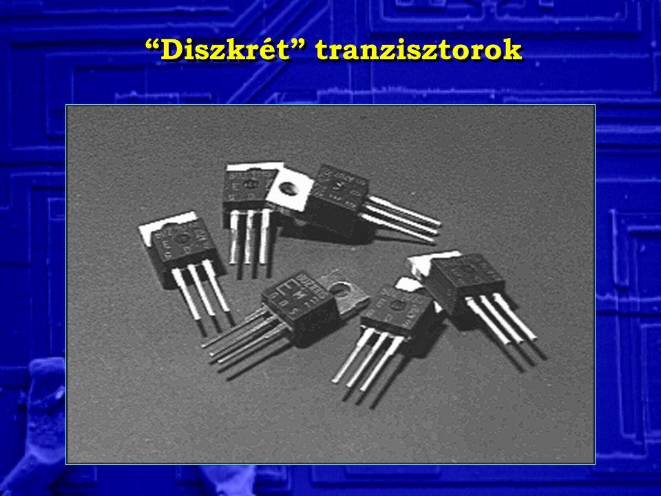 Diszkrét tranzisztorok