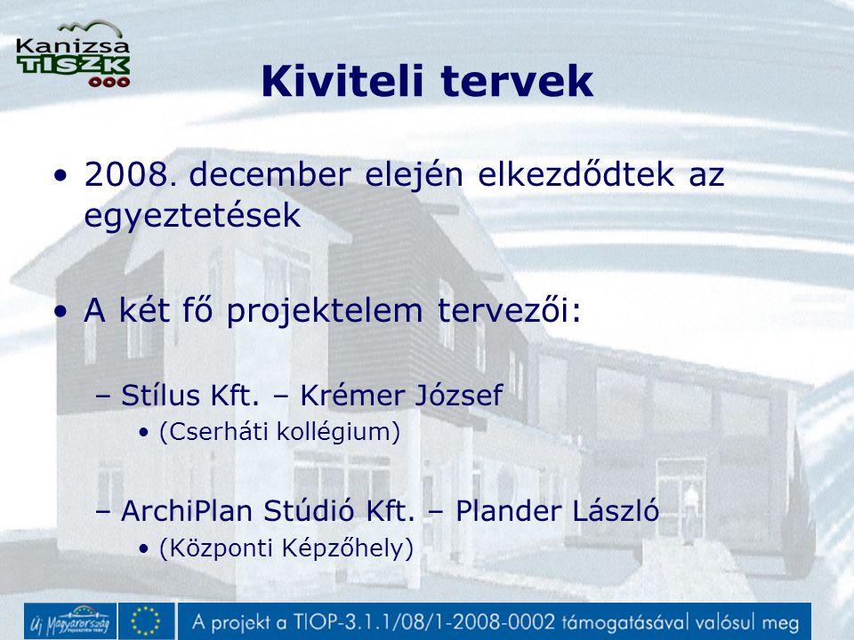 Kiviteli tervek 2008.