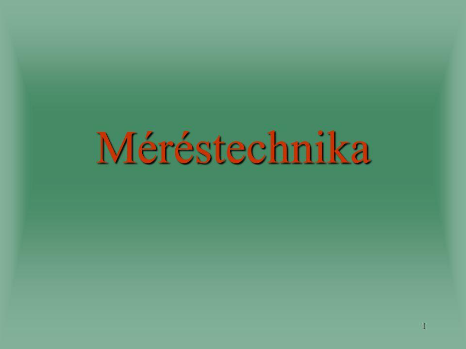 1 Méréstechnika