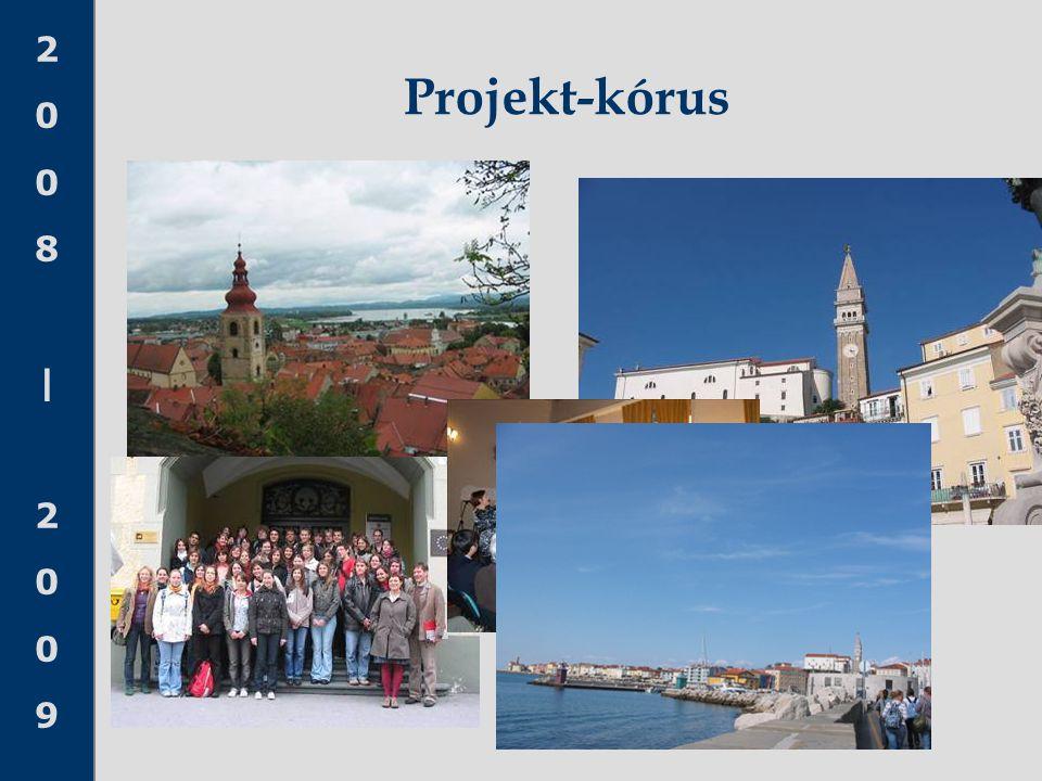 2008 20092008 2009 Projekt-kórus