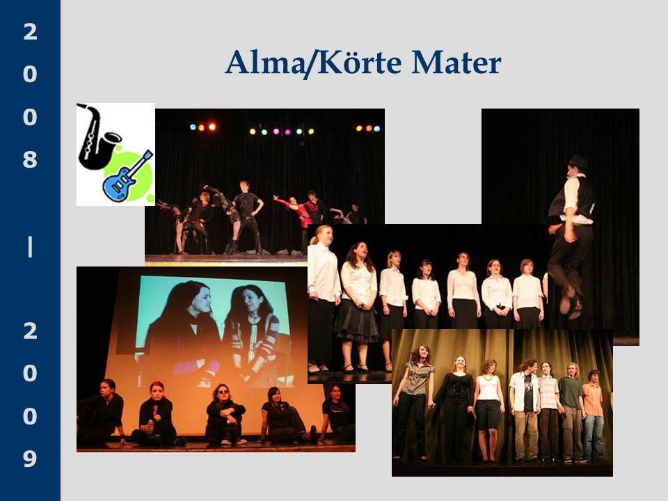2008 20092008 2009 Alma/Körte Mater