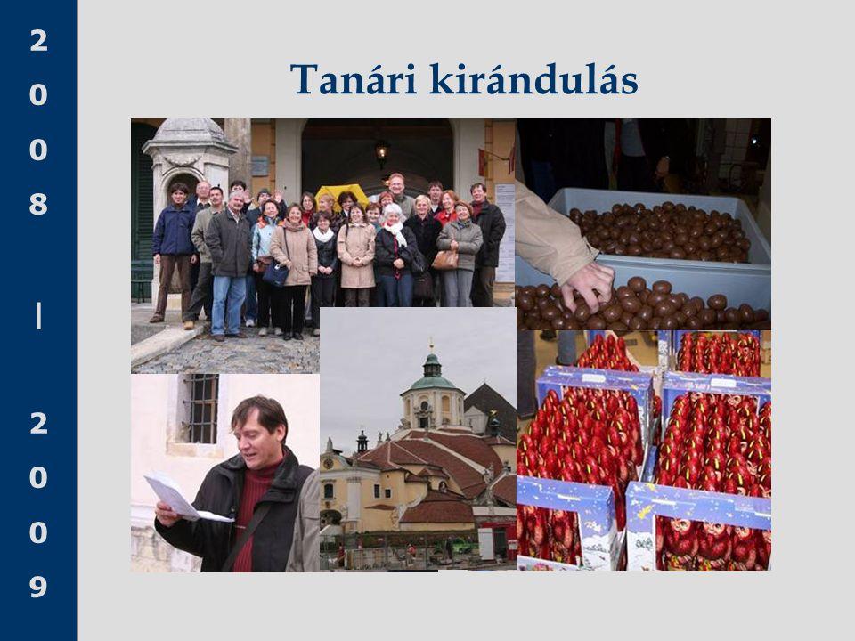 2008 20092008 2009 Tanári kirándulás