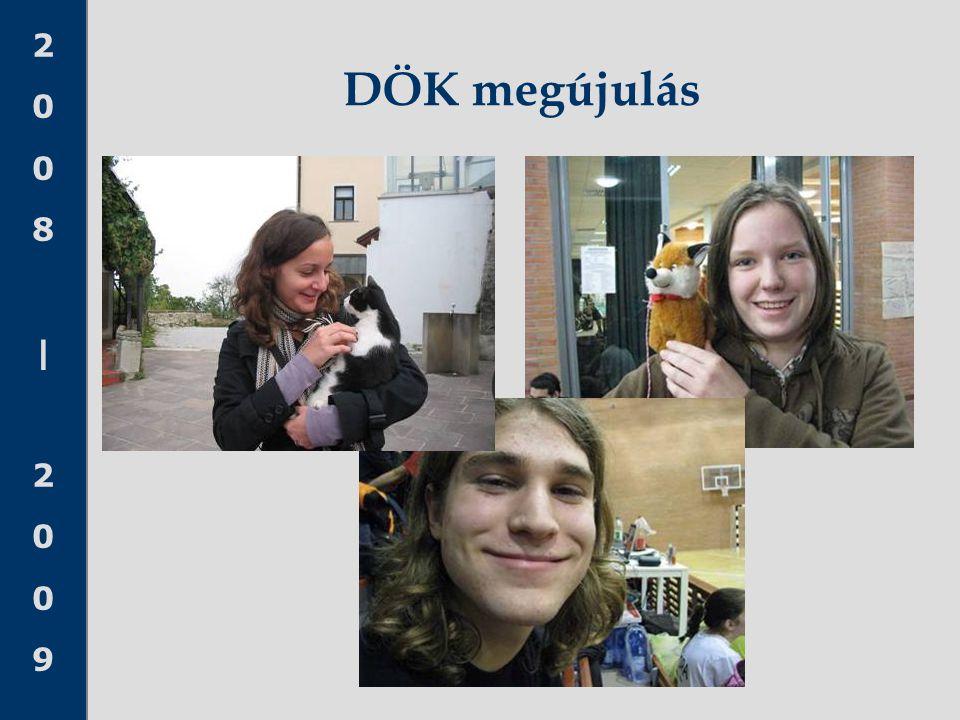 2008 20092008 2009 DÖK megújulás
