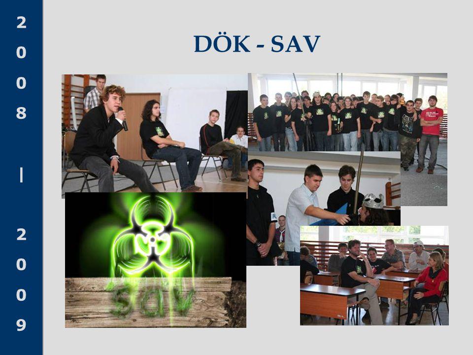 2008 20092008 2009 DÖK - SAV