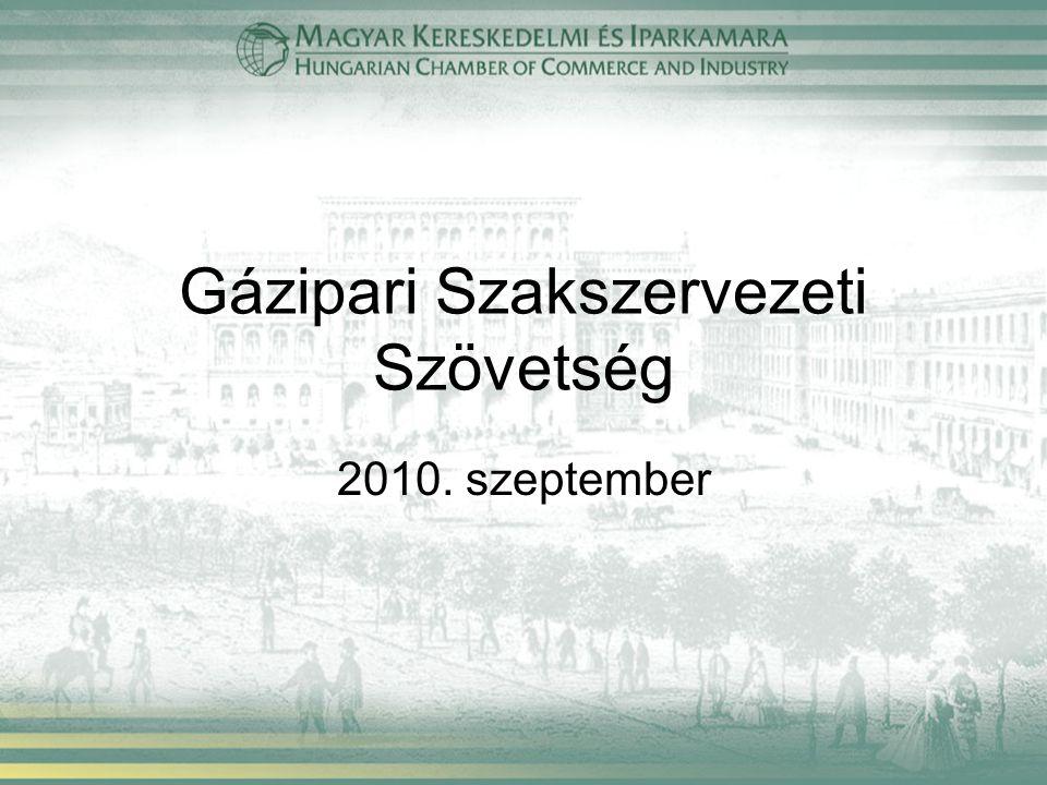 Gázipari Szakszervezeti Szövetség 2010. szeptember