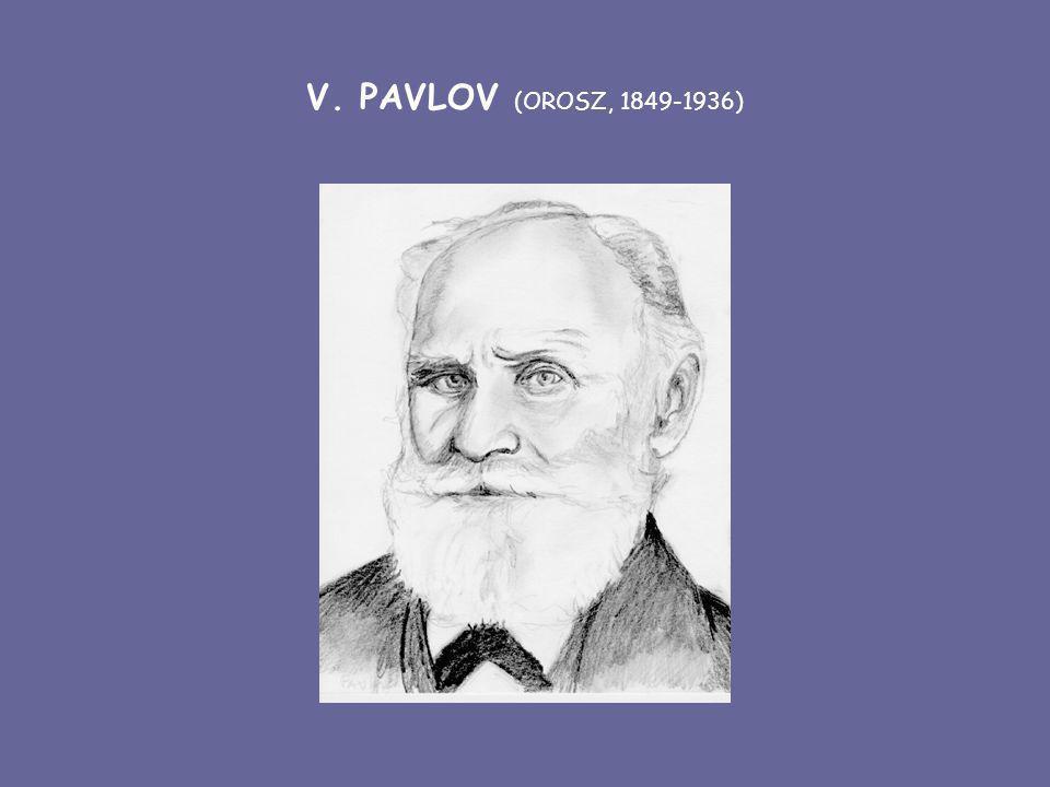 V. PAVLOV (OROSZ, 1849-1936)