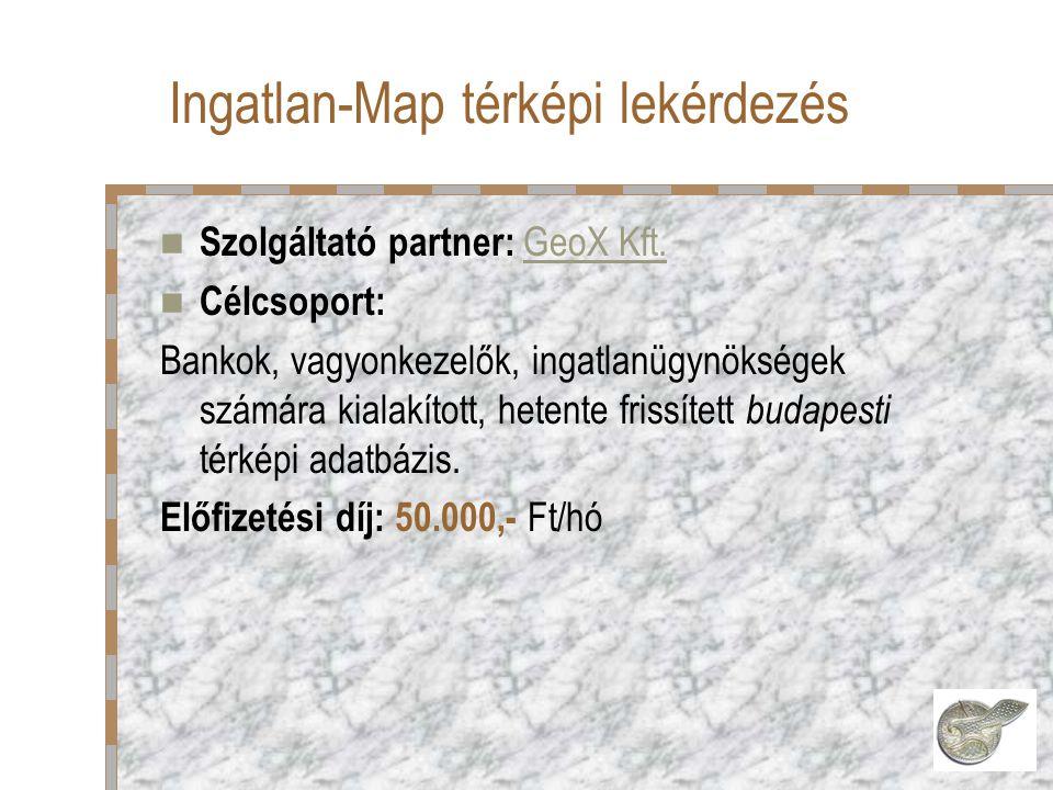 Szolgáltató partner: GeoX Kft.GeoX Kft.