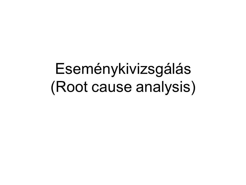 Eseménykivizsgálás (Root cause analysis)
