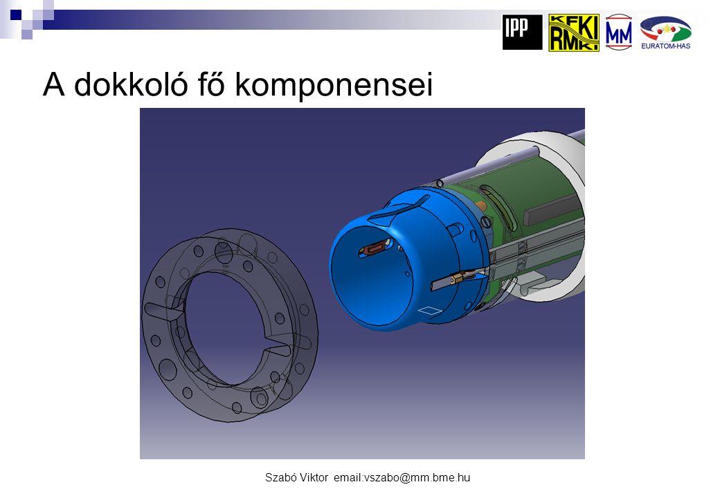 Szabó Viktor email:vszabo@mm.bme.hu A dokkoló metszete