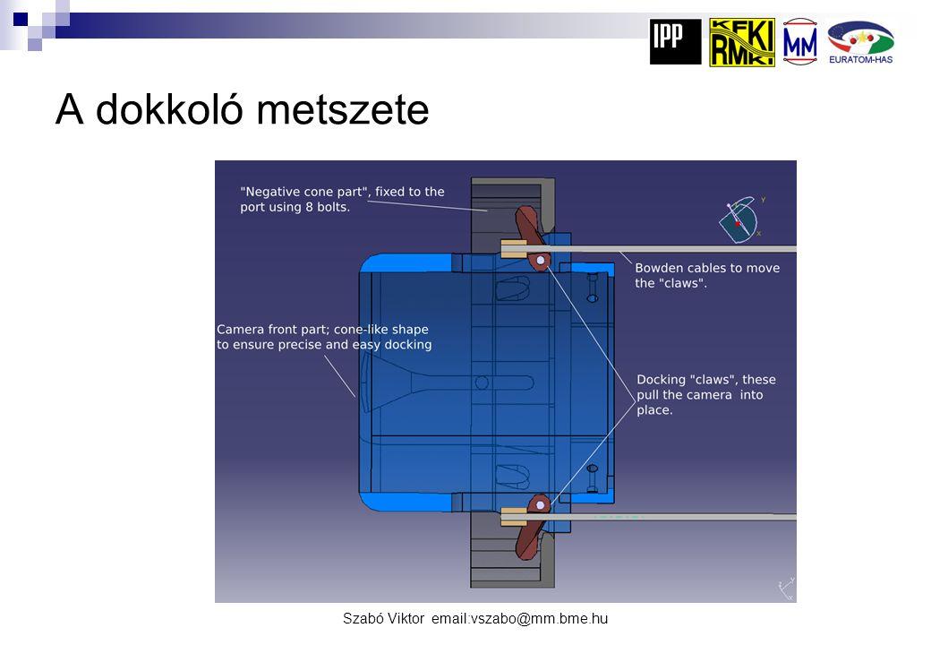 Szabó Viktor email:vszabo@mm.bme.hu Az AEQ port a reaktor belsejében I