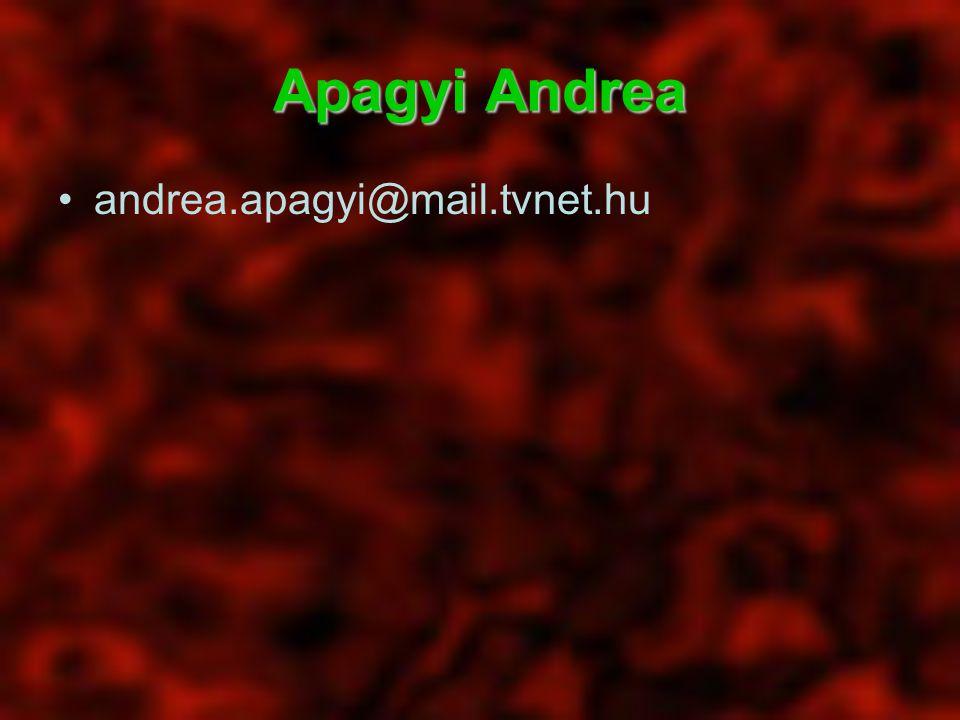 Apagyi Andrea andrea.apagyi@mail.tvnet.hu