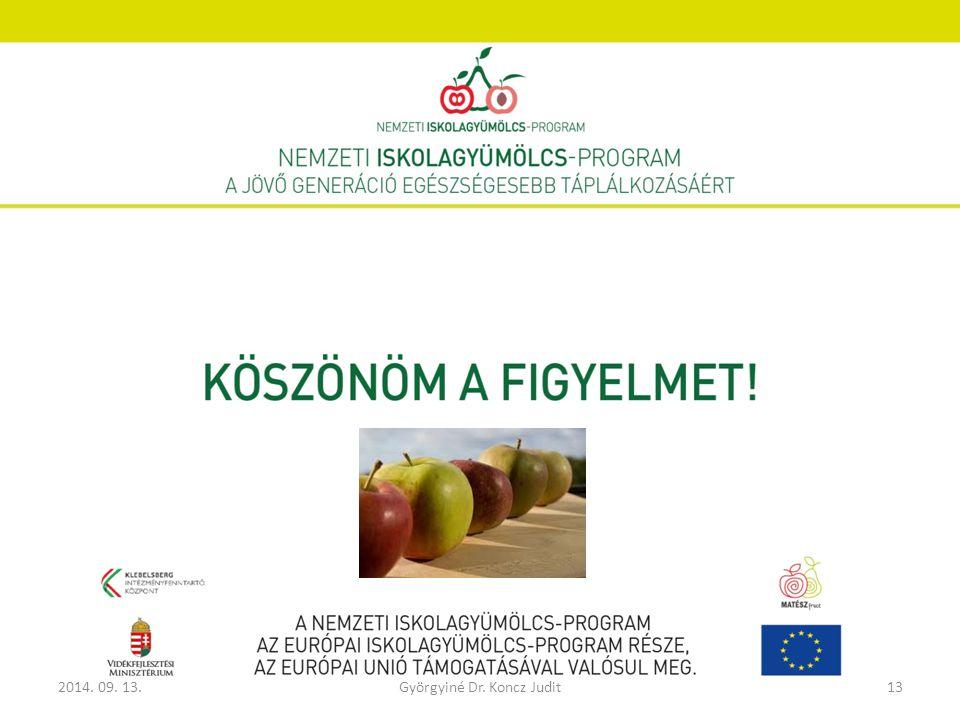 2014. 09. 13.Györgyiné Dr. Koncz Judit13