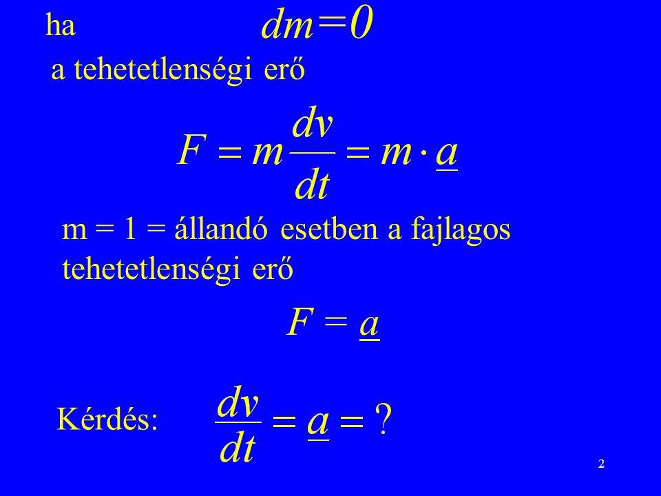 13 Vektoriális alak Térerősség vektor