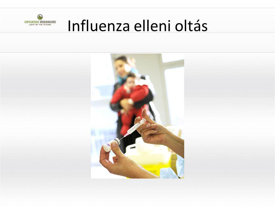 Influenza elleni oltás