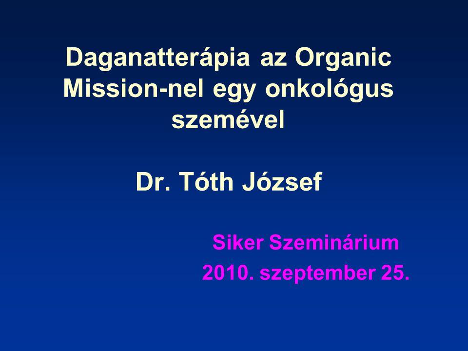Az előadás érdemi részében az Organic Mission három fontos termékének 1.