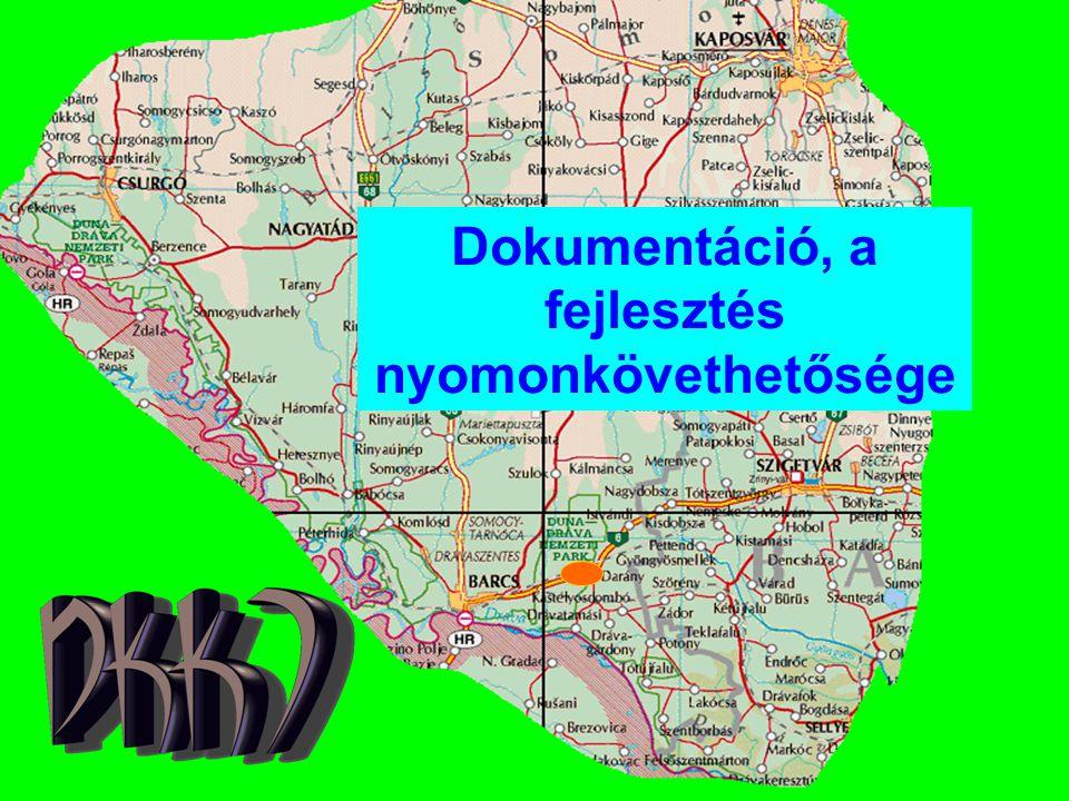 Dokumentáció, a fejlesztés nyomonkövethetősége