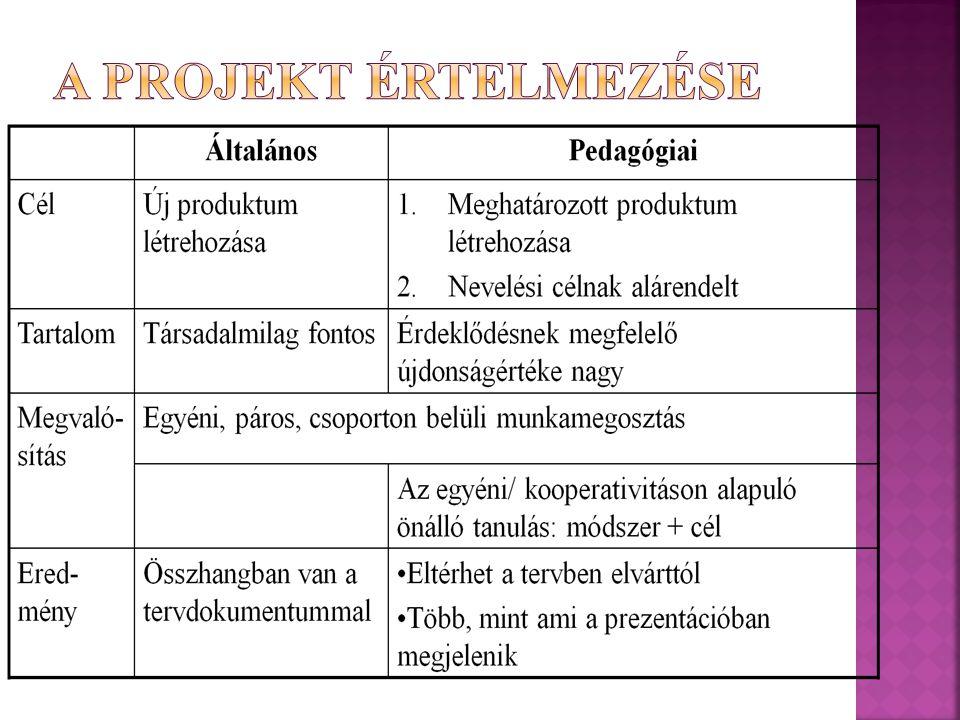 Hegedűs Gábor: A hagyományos pedagógiával ellentétben a projektpedagógia nem a tananyaghoz rendeli a gyermeket, hanem a gyermekhez rendeli a tananyagot.