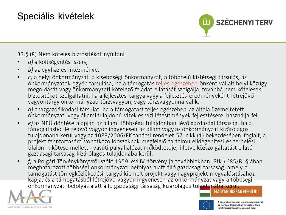 """Szabályozási háttér 4/2011.(I. 28. ) Korm. rendelet 103.§ (""""103."""