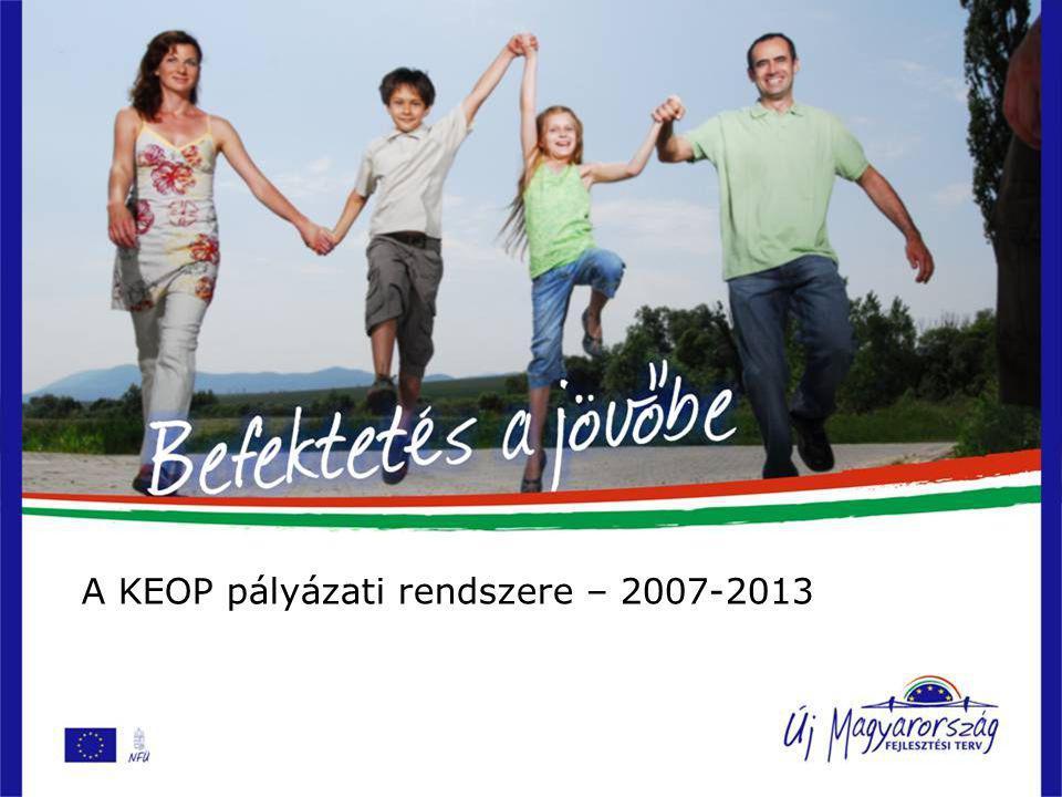 Környezetvédelmi programok, irányvonalak az Új Magyarország Fejlesztési terv tükrében Horn Gergely szakmai tanácsadó Nemzeti Fejlesztési Ügynökség Környezetvédelmi Programok Irányító Hatósága Budapest, 2007.
